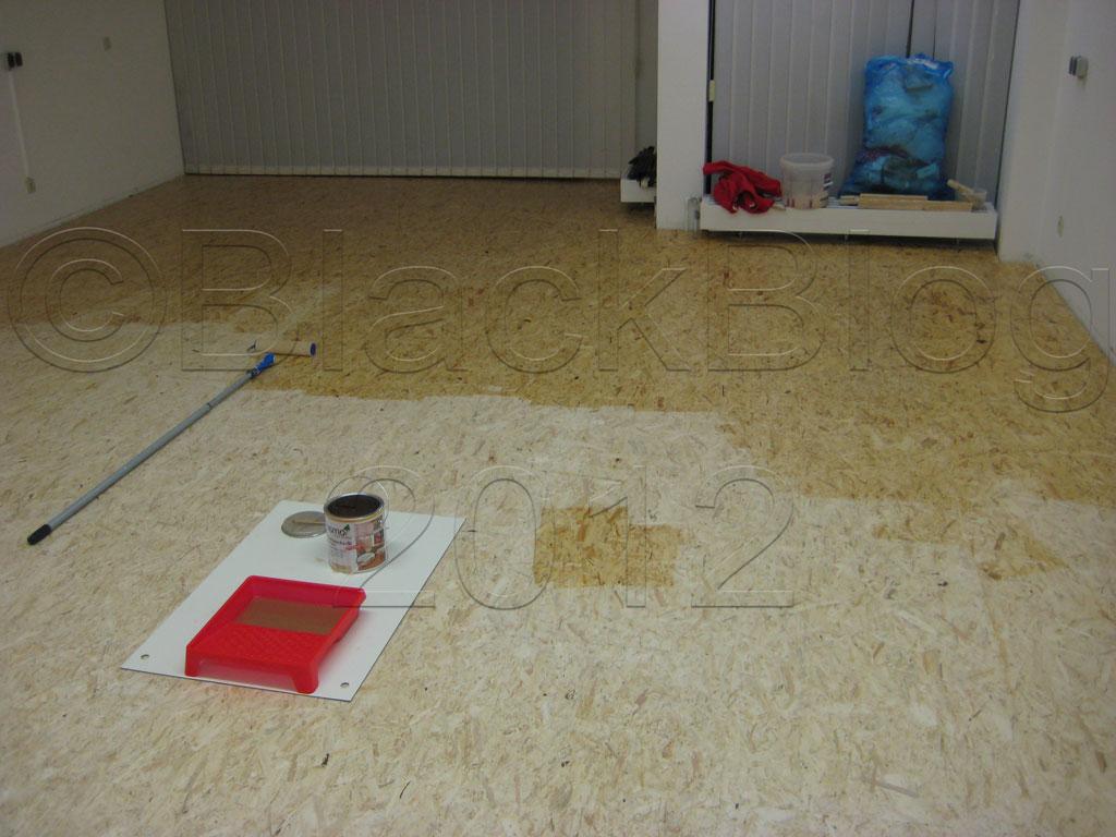 Hervorragend Black Blog » Blog Archive » OSB Platten als Fußboden JY84